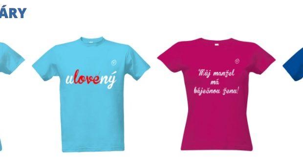 2eb6be872 Trička pro páry - vtipné dárky pro zamilované dvojce - originální potisky